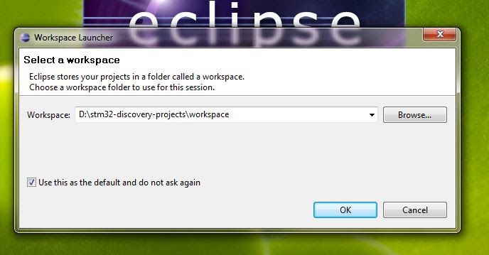 Setting up Eclipse and Code Sourcery lite for STM32 Discovery