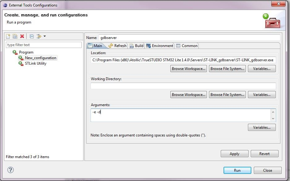 Getting hardware debugging working with Eclipse and Code Sourcey